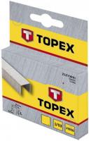 Скобы для степлера TOPEX